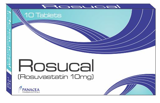 Rosucal lit 10 mg