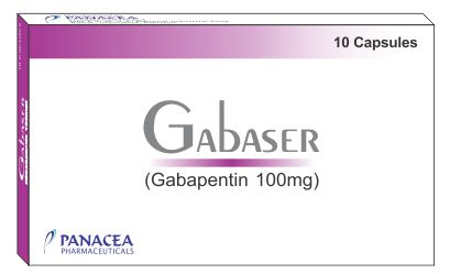 Gabaser 100 mg