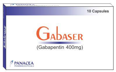 Gabaser 400 mg