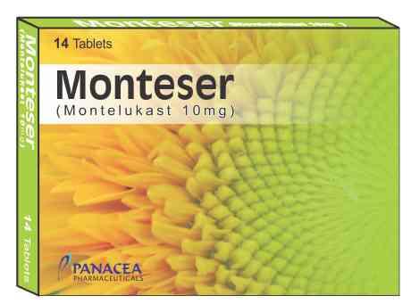 monteser 10 mg