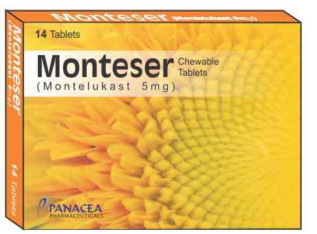 monteser 5 mg